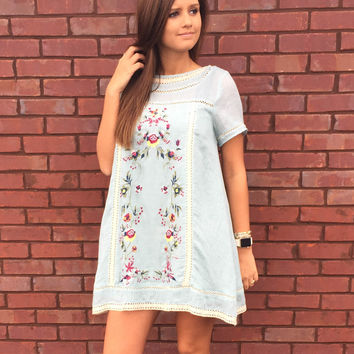 Southern Belle Embriodered Dress