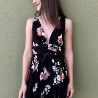 Homegrown Honey Dress- Black