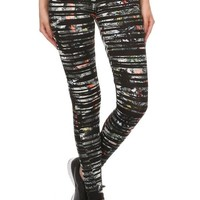 Multi-color Sho Active Women's Abstract Print Activewear