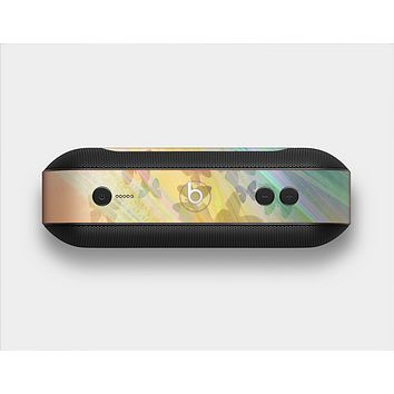 The Abstract Color Butterfly Shadows Skin Set for the Beats Pill Plus