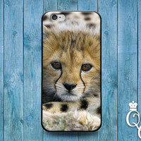 iPhone 4 4s 5 5s 5c 6 6s plus iPod Touch 4th 5th 6th Generation Cover Fun Baby African Cheetah Cute Custom Animal Boy Girl New Born Case