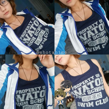 Iwatobi Swim club ( Free! ) Tank Top