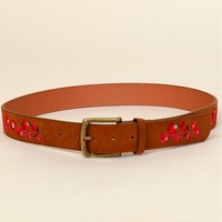 America's Sweetheart Belt Multi/ Tan