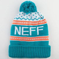 Neff Flake Beanie Blue Combo One Size For Men 22430424901