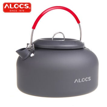 Alocs CW-K03 Outdoor Kettle Camping Picnic Water Teapot Coffee Pot 1.4L Aluminum