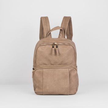 Urban Originals - Bold Move Backpack Taupe Backpack