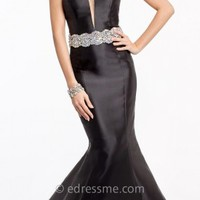 Strapless Mikado Mermaid Evening Gowns by Jovani Exclusive Collection for eDressMe