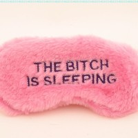 Eye Mask - The Bitch is Sleeping:Amazon:Beauty