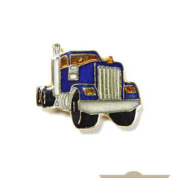 Freight Truck Vintage Pin