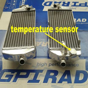GPI aluminum racing  Radiator for KTM 400 450 525 SX/MXC/EXC 2003-2006 04 05 2004