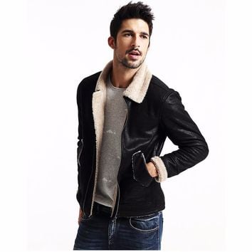 Inner Wool Shearling Vintage Jacket