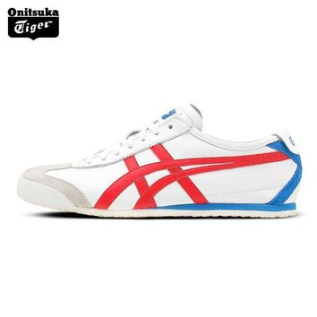 PEAPON Onitsuka Tiger MEXICO66N Outdoor Authentic Men Shoes Classical Breathable Lightweight Unisex Sneakers D4J2L