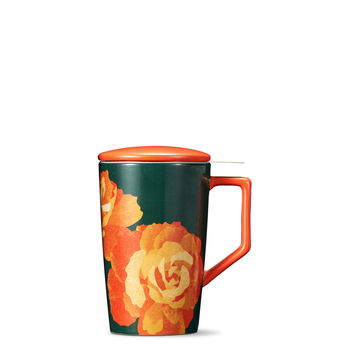 Forest Autumn Rose Infuser Mug