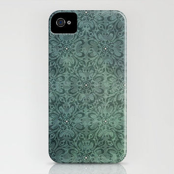 Repeat Pattern with Pearls iPhone Case by Susan Weller | Society6