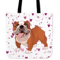 English Bulldog - Tote Bag