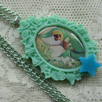 Pokémon - SNIVY - Pokémon Trading Card Necklace - Gamer Gear