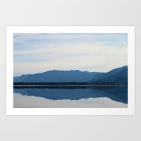 Reflecting Beauty Art Print by Backwoods Stories