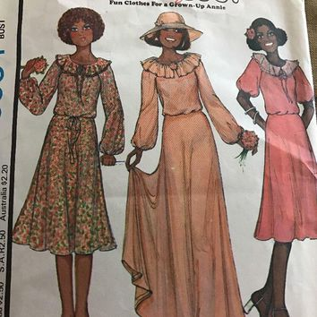 McCalls' 6064 Annie too! Misses Bride's Dress Size 10 Musical Broadway Pattern