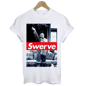 Fresh Prince 'Swerve' T Shirt Tee S M L XL Retro Will Smith TV Show Prince of Bel Air Cool