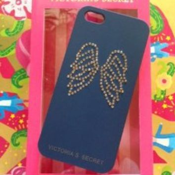 Victoria's Secret Angel Embellished Rhinestone Wings iPhone 5 Hard-Shell Case, NEW!