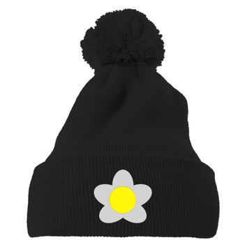 Animal Crossing New Leaf Girl Villager Embroidered Knit Pom Cap