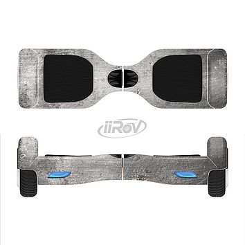 The Grunge Gray Surface Full-Body Skin Set for the Smart Drifting SuperCharged iiRov HoverBoard