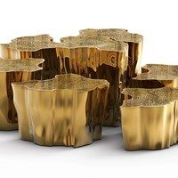 Nest of tables for living room EDEN SERIES Limited Edition Collection by Boca do lobo