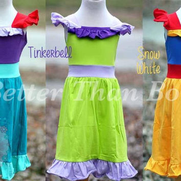 EXTRAS- DRESS UP PRINCESS - Ariel, Tinkerbell, & Snow White - *Preorder 0063* Closes Feb 17th*