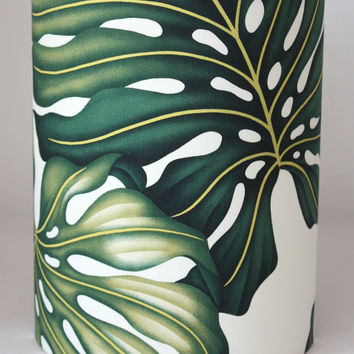 Copy of monstera leaf small lampshade