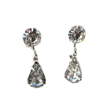 Shop Vintage Teardrop Earrings Bridal on Wanelo f4b09422c