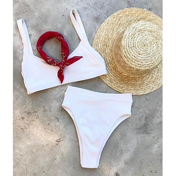 Swimsuit Summer Hot Beach New Arrival Swimwear Sexy High Waist Bikini [9644762829]