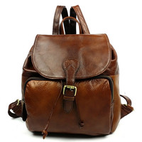 Lixmee women cow leather cute backpack