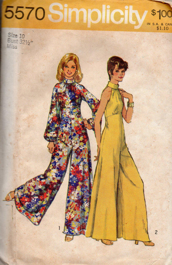Retro Disco Fashion 70s Bell Bottom Wide From Adele Bee Ann