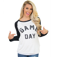 """GAME DAY"" Long Sleeve Shirt"