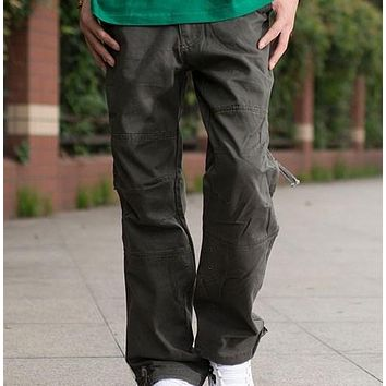 Military Style Army Cargo Pants Men Multi Pocket Sweatpants Pantalones Hombre Black Khaki Grey Army Green Plus Size XXL XXXL