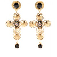 Gold-Plated Clip-On Earrings  ☆ Dolce & Gabbana » mytheresa