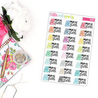 Relax and Read Planner Stickers for the Erin Condren Life Planner, Read Sticker, Reading Planner Sticker - [P0127]