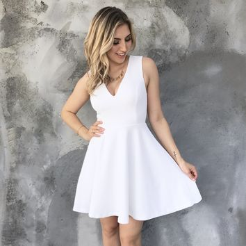 Picture Perfect White Dress