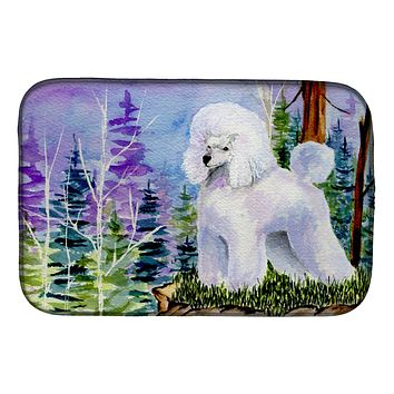 Poodle Dish Drying Mat SS8639DDM