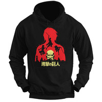 Attack on titan - Titans - Unisex Hoodie T Shirt - SSID2016