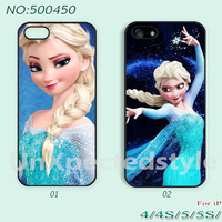 Disney frozen Phone Cases, iPhone 5 Case, iPhone 5S/5C Case, iPhone 4/4S Case, Disney frozen, Case for iPhone-500449