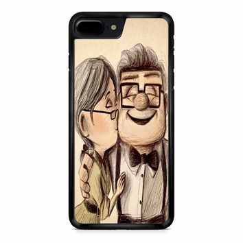 Up Disney Pixar Carl And Ellie iPhone 8 Plus Case