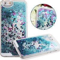 Falling Stars iPhone 6/6S Case - Glitter & Sparkles - Hard/Soft Case