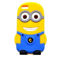 @ble® 4-in-1 Despicable Me 3D Silicone Case Cover for iPhone 5 / 5S(YE#BU)