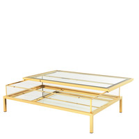 Eichholtz Harvey Coffee Table - Gold (L)