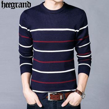 Men's  Spring O-Neck Sweater
