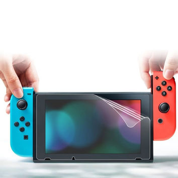 2 Pack Genuine Soft HD Clear Screen Protectors For Nintendo Switch