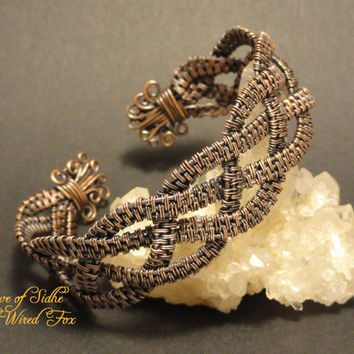 Wire Wrapped 'Weave of Sidhe' Handcrafted by The Wired Fox on Zibbet