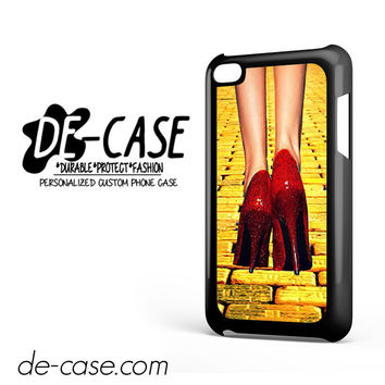 Yellow Brick Road Dorothy Wizard Of Oz Inspired Cute Ruby Red DEAL-12122 Apple Phonecase Cover For Ipod Touch 4