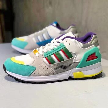 Adidas Consortium ZX 10.000 Fashion Men Retro Casual Sport Running Shoes Sneakers